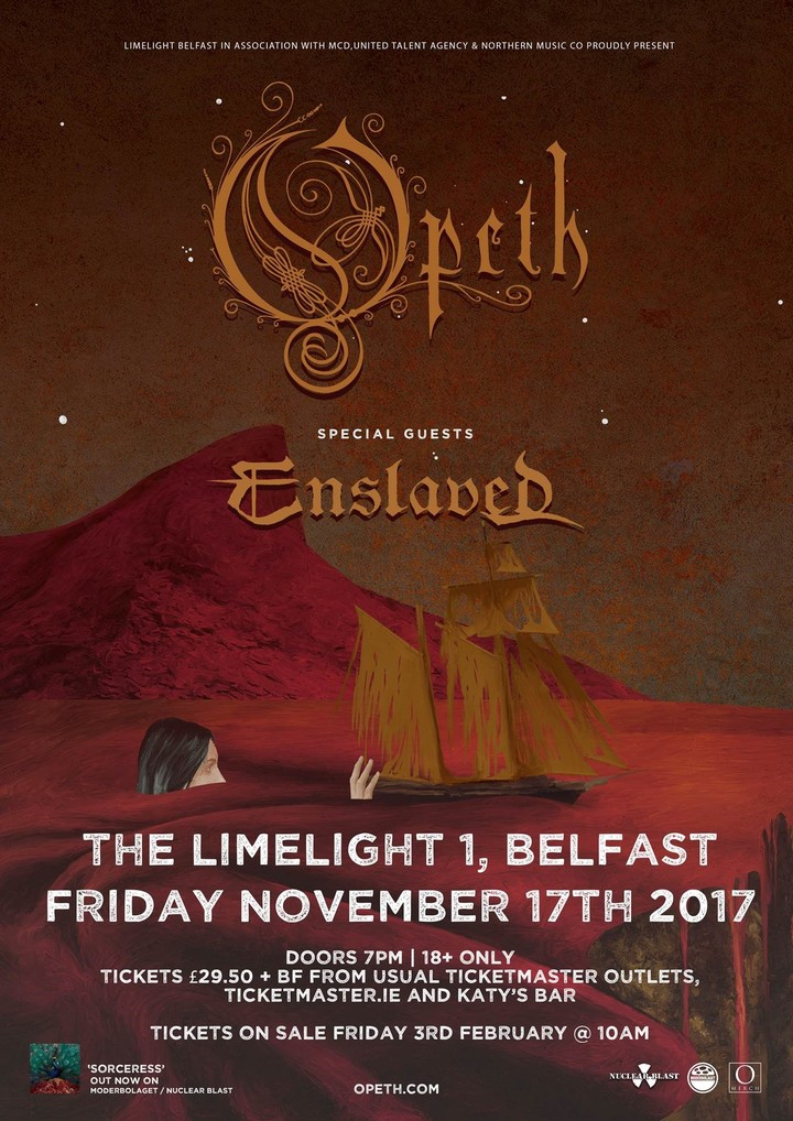 Opeth @ The limelight two - Belfast, United Kingdom