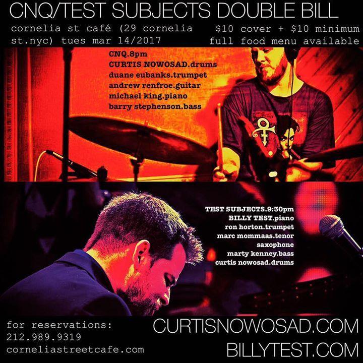 Curtis Nowosad Tour Dates