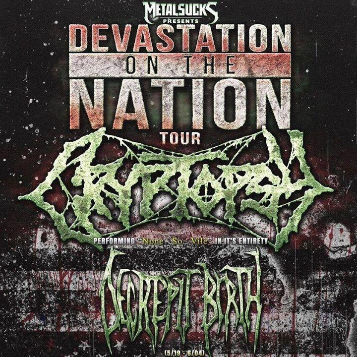 Decrepit Birth Tour Dates