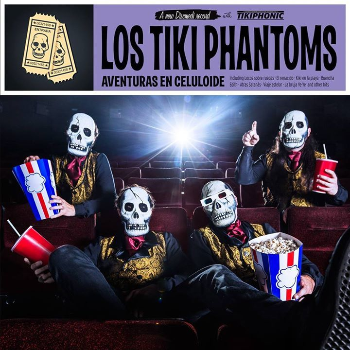 Los Tiki Phantoms Tour Dates