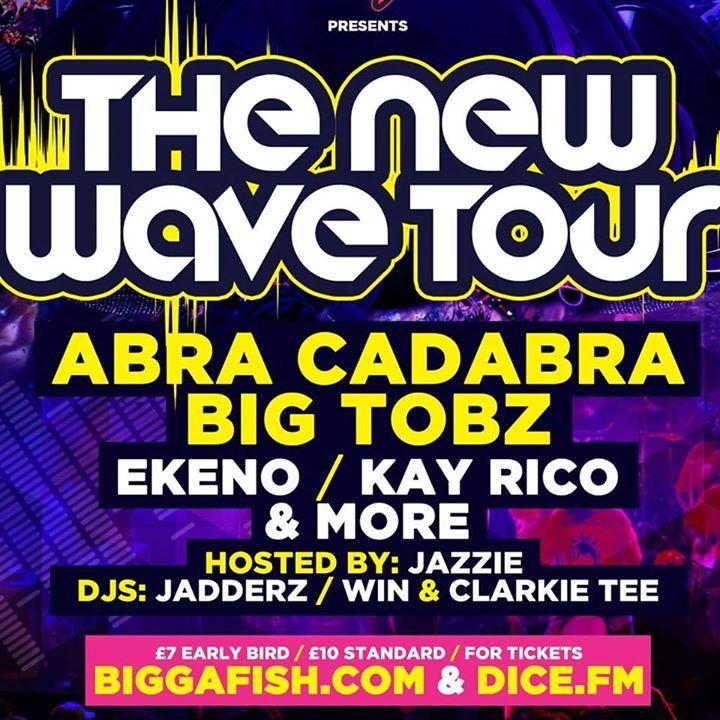 Bigga Fish Tour Dates