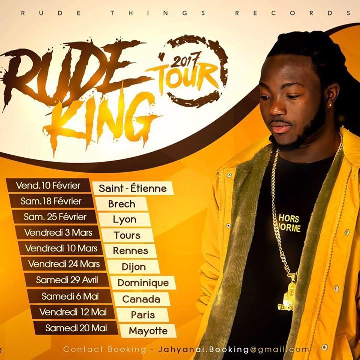 Jahyanai King (Officiel ) Tour Dates