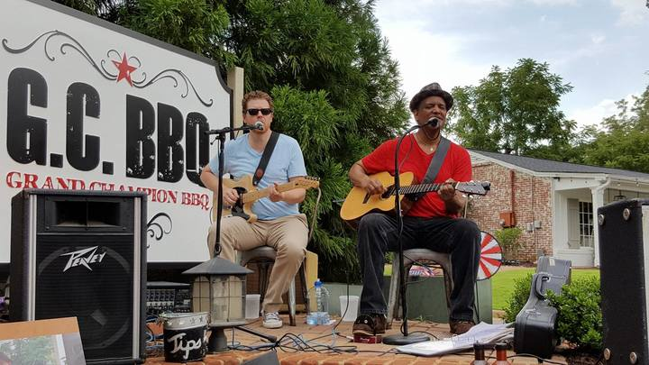 Larry Griffith Band @ GC BBQ - Canton St - Roswell, GA