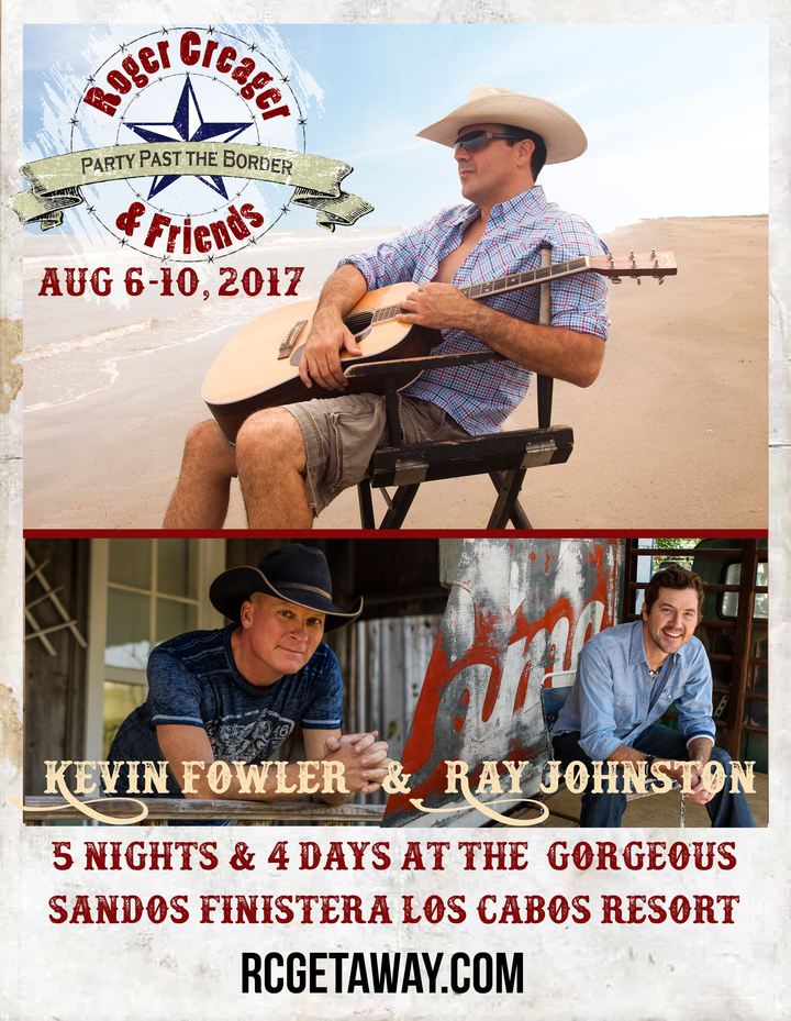 Kevin Fowler @ Party Past the Border - Cabo San Lucas, Mexico