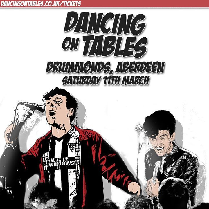 Dancing On Tables Tour Dates