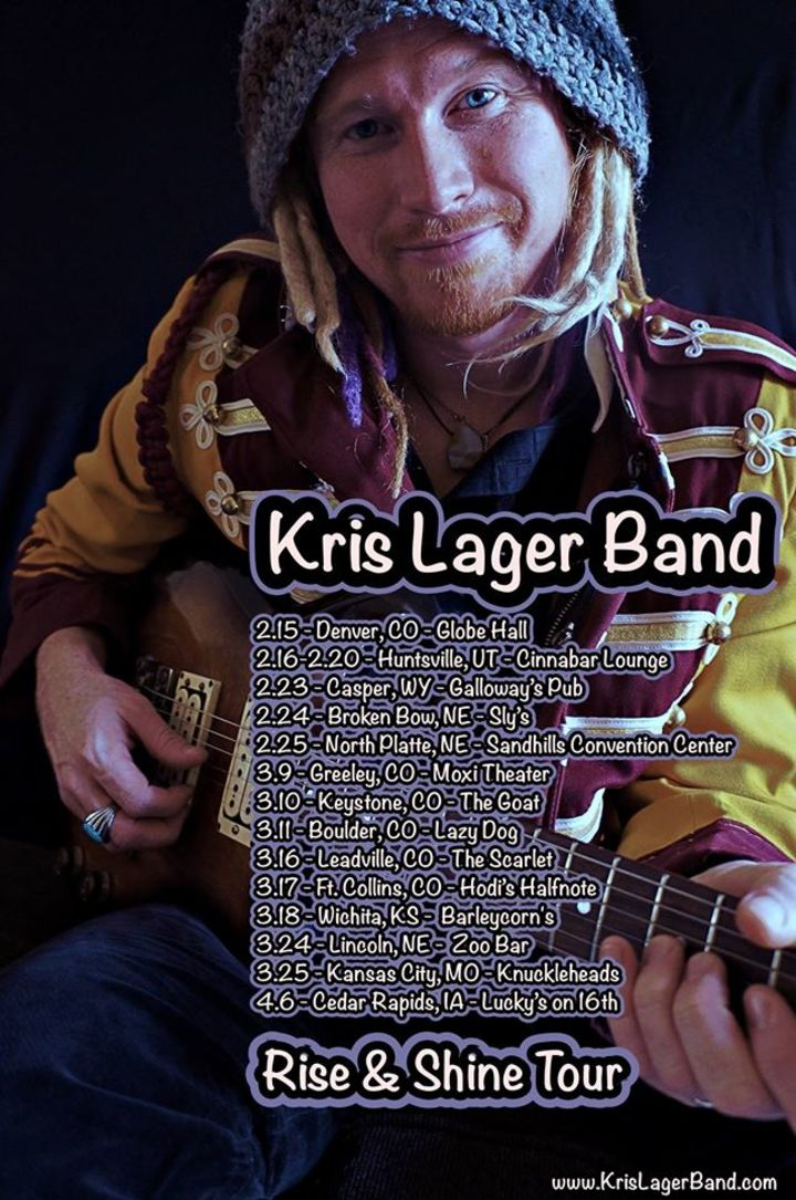 Kris Lager Band Tour Dates
