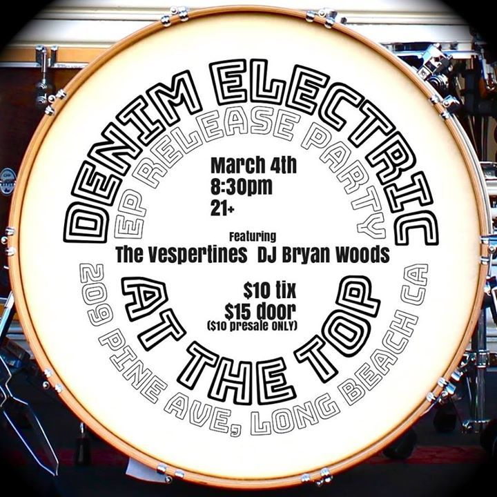 Denim Electric Tour Dates