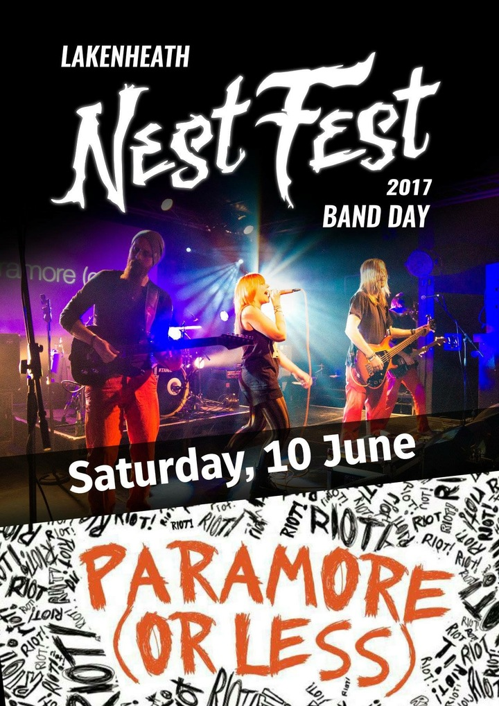 Paramore Or Less @ NestFest - Brandon, United Kingdom