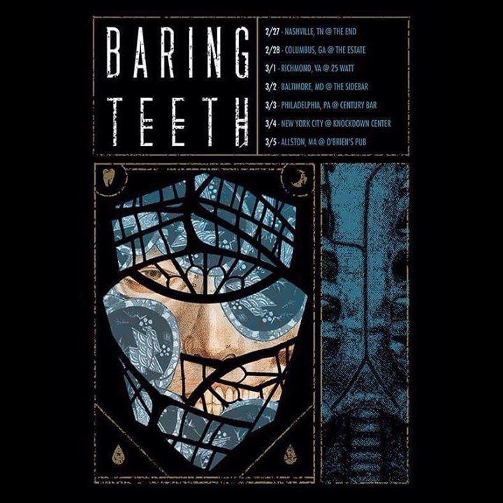 Baring Teeth Tour Dates