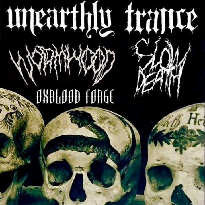 Oxblood Forge Tour Dates
