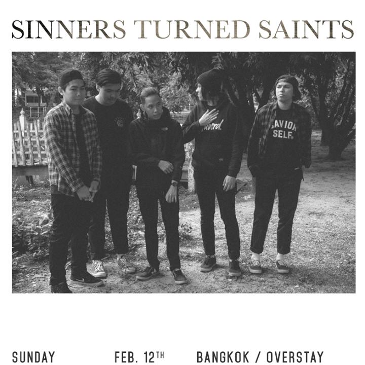 Sinners Turned Saints Tour Dates