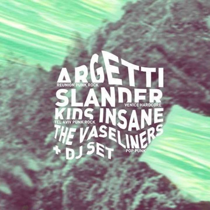 - ARGETTI - Tour Dates