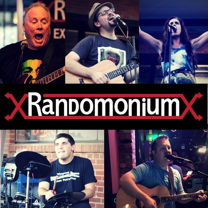 Randomonium @ RJ Rockers Brewery - Spartanburg, SC