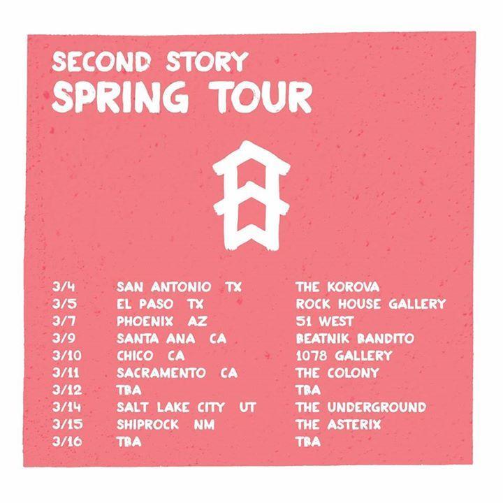 Second Story Tour Dates
