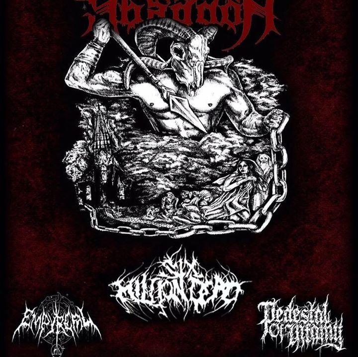 Pedestal Of Infamy Tour Dates
