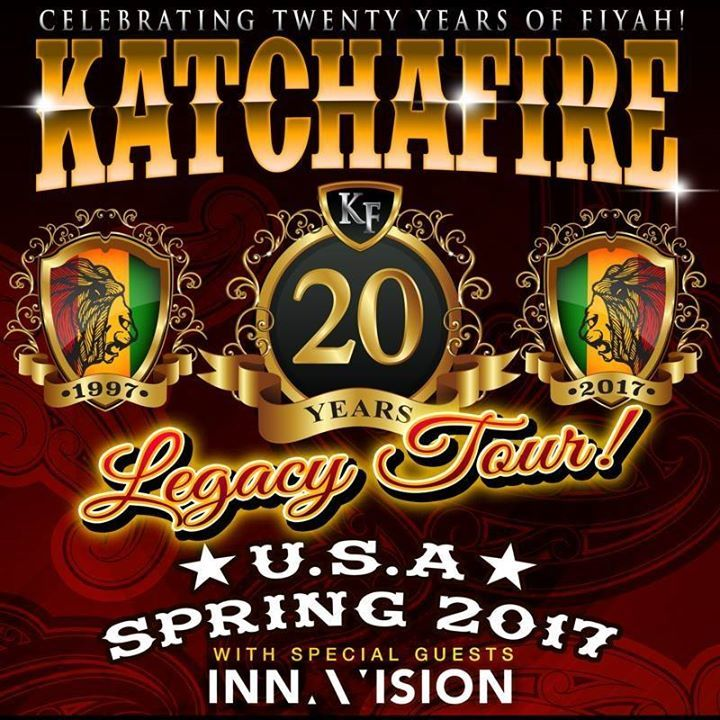 Katchafire @ ASB Baypark Arena  - Tauranga, New Zealand