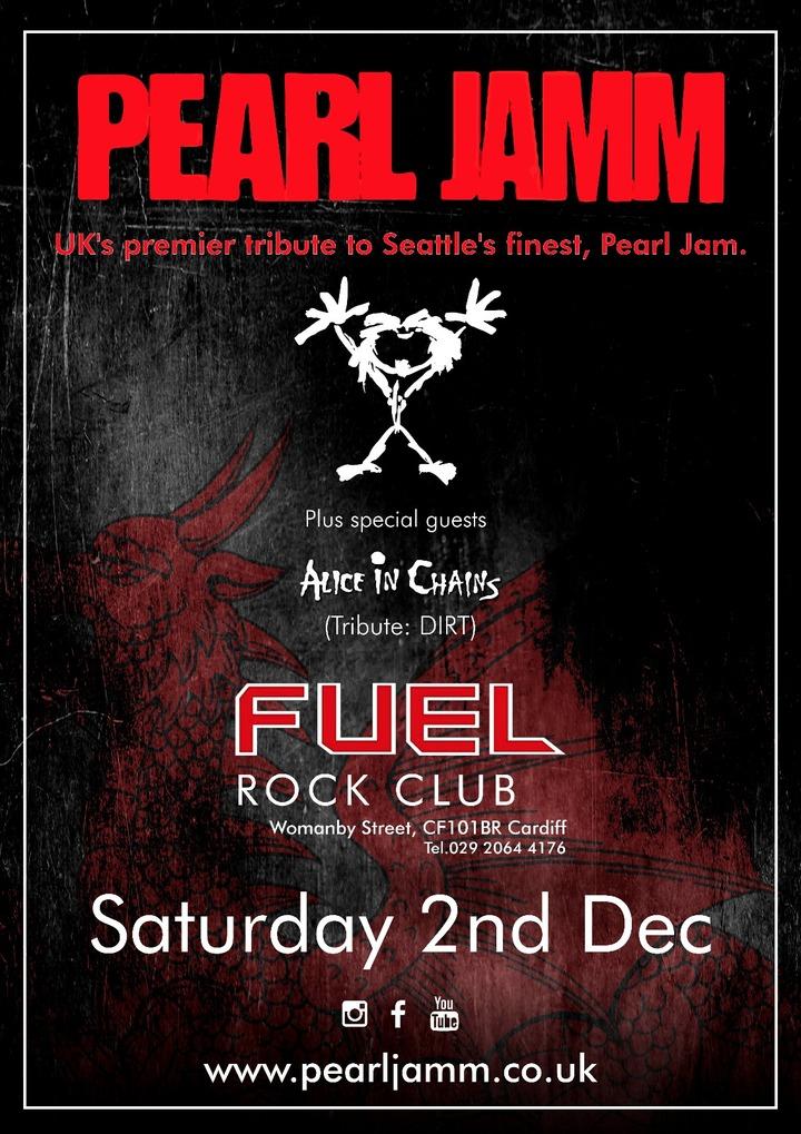 Pearl Jamm @ Fuel Rock Club - Cardiff, United Kingdom
