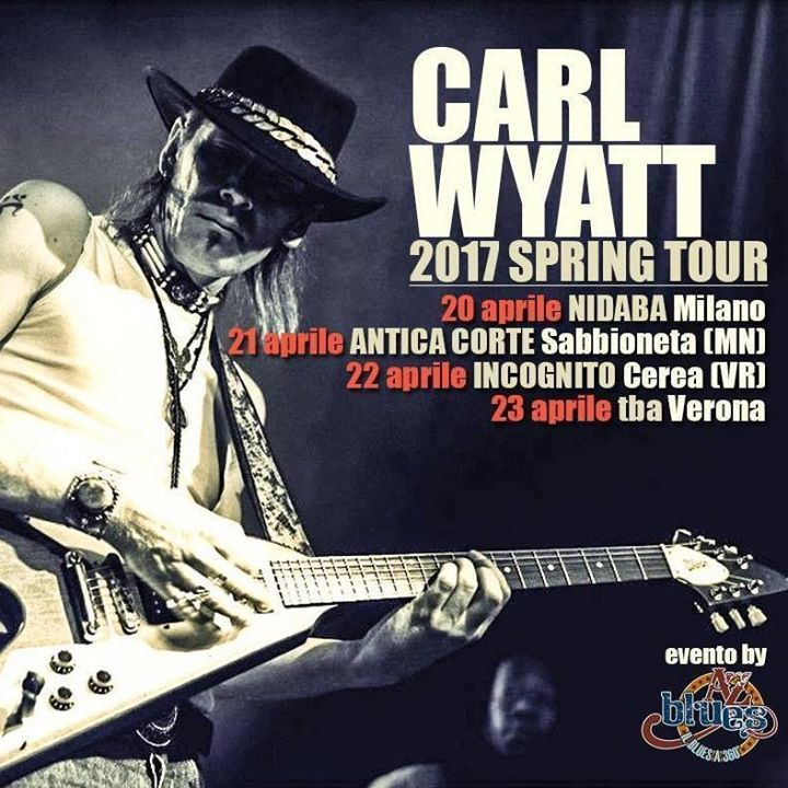 Carl Wyatt Tour Dates