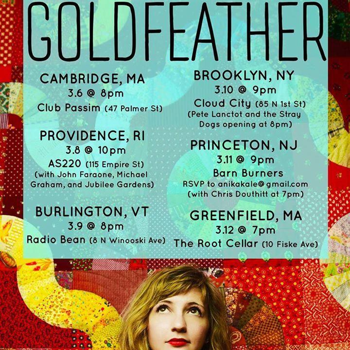 Sarah Goldfeather Tour Dates