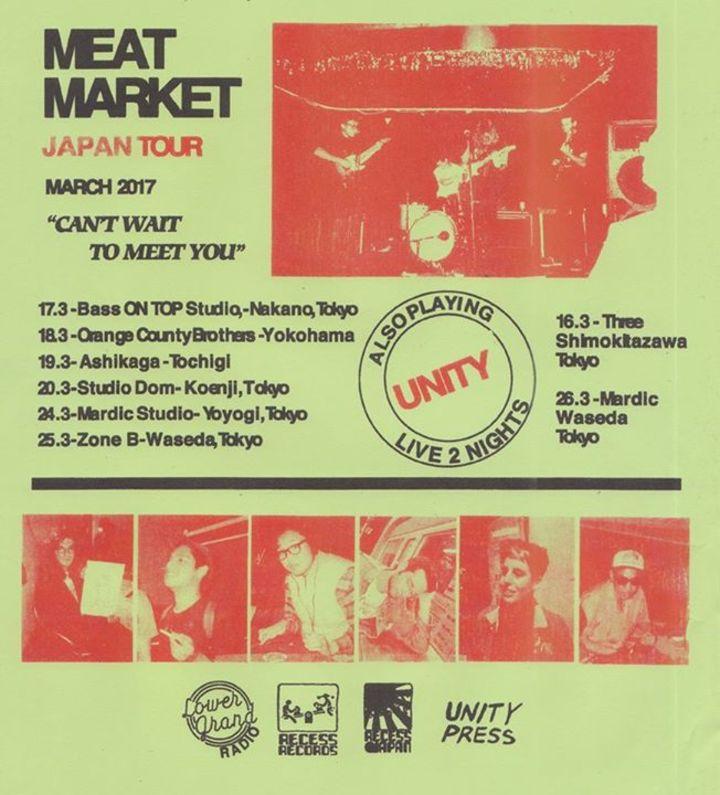 Meat Market Tour Dates