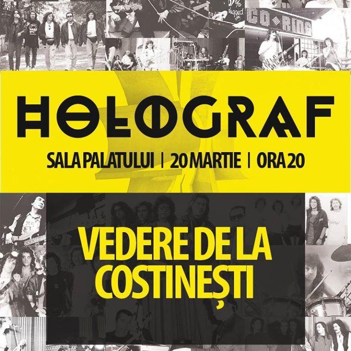 Holograf Tour Dates