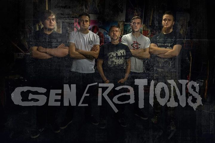 Generations (metal covers band) @ King Billy - Northampton, United Kingdom