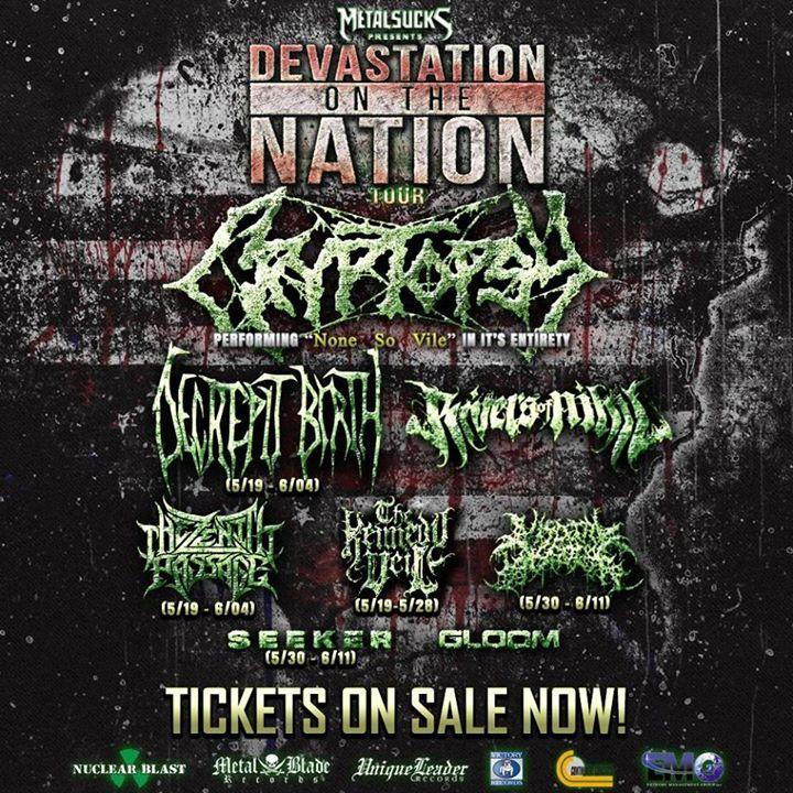 Devastation On The Nation Tour Tour Dates