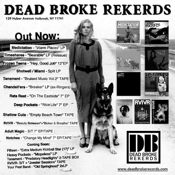 DEAD BROKE REKERDS Tour Dates