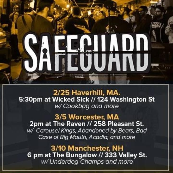 Safeguard Tour Dates