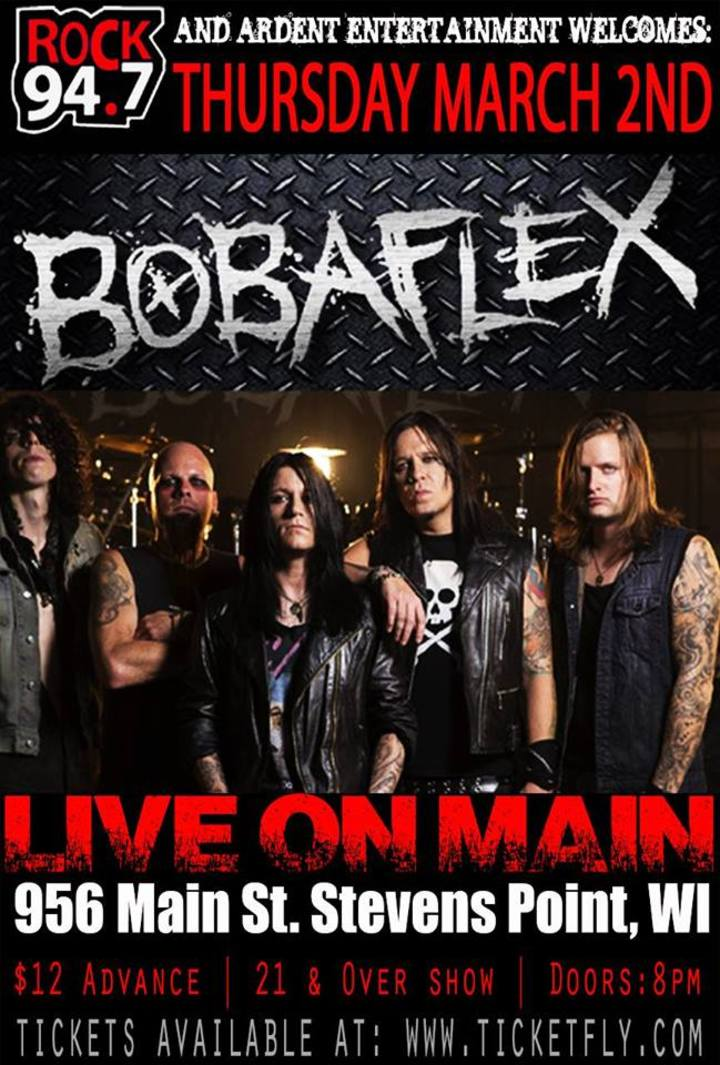 Bobaflex @ Live on Main - Stevens Point, WI