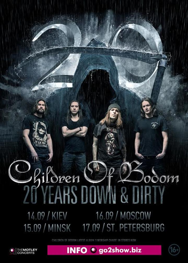 Children of Bodom @ Cosmonaut - Saint Petersburg, Russian Federation