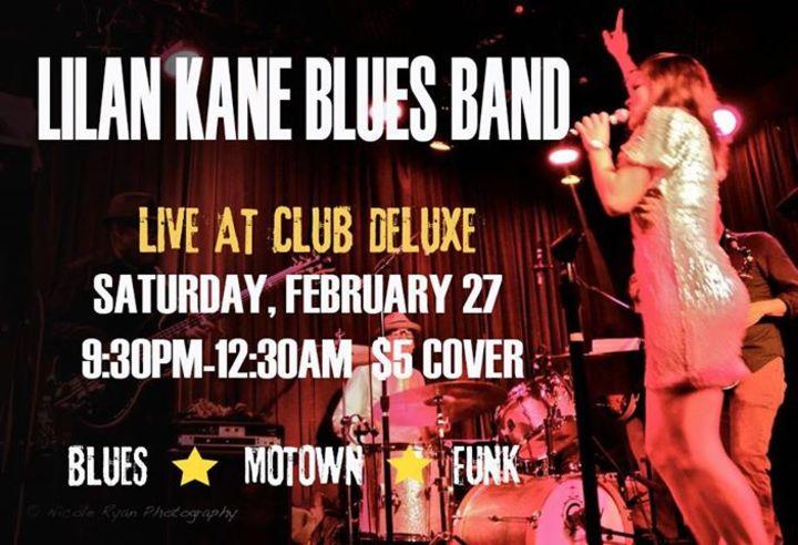 Lilan Kane Blues Band Tour Dates