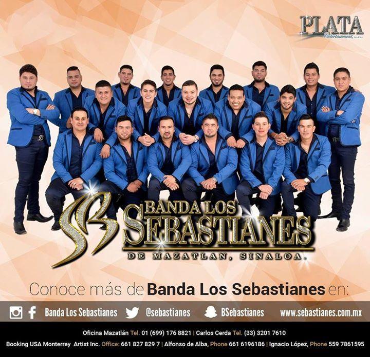 Banda Los Sebastianes Tour Dates