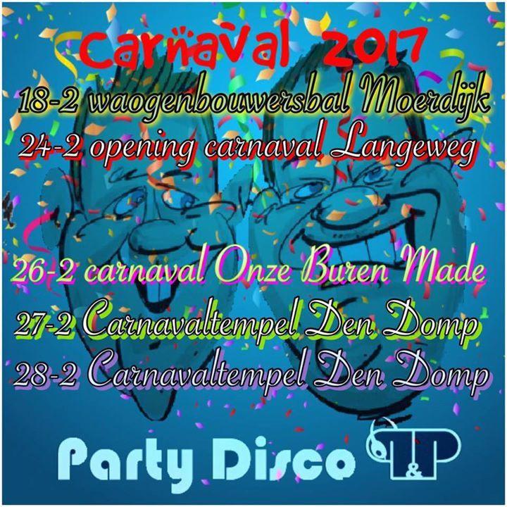 Party Disco P&P Tour Dates