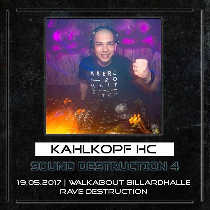DJ Kahlkopf HC Tour Dates