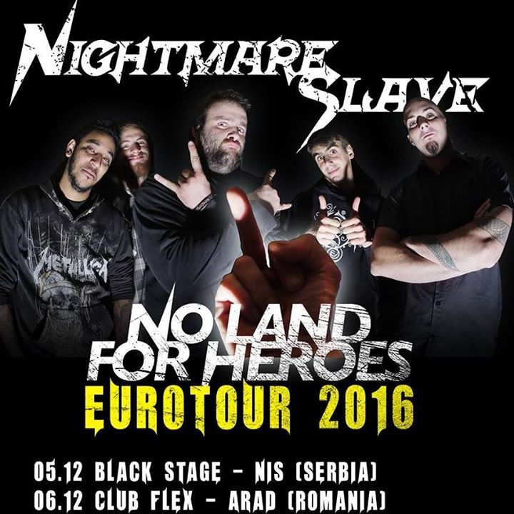 Nightmare Slave Tour Dates