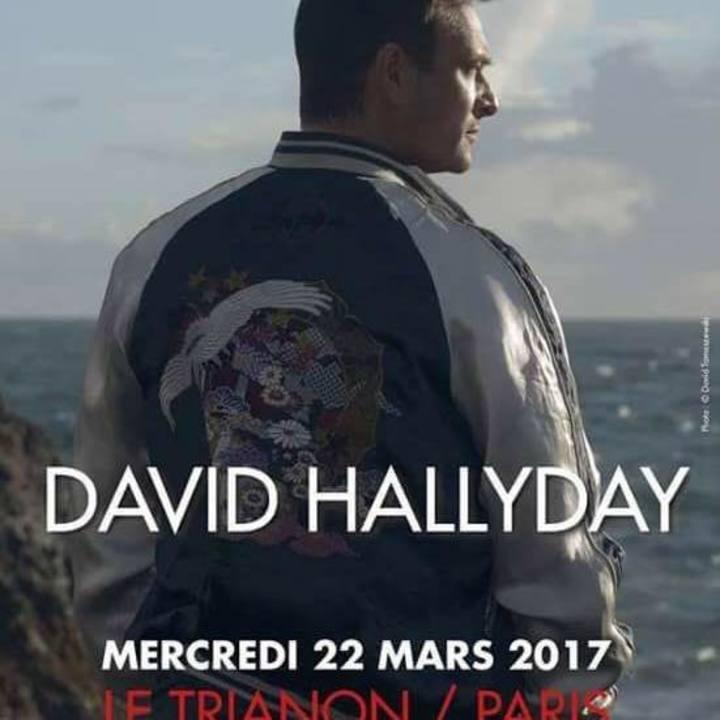 David Hallyday @ Maroquinerie - Paris, France