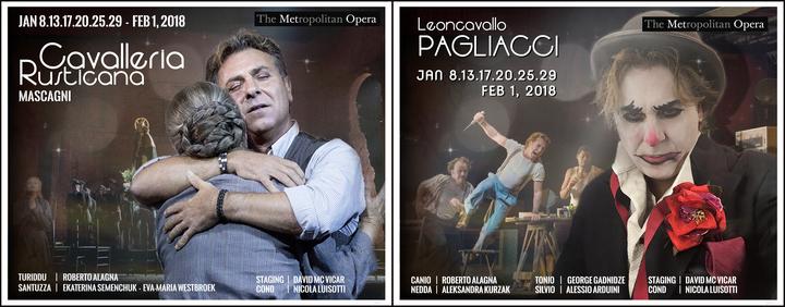 Roberto Alagna @ CAVALLERIA / PAGLIACCI (Metropolitan Opera) - New York, NY