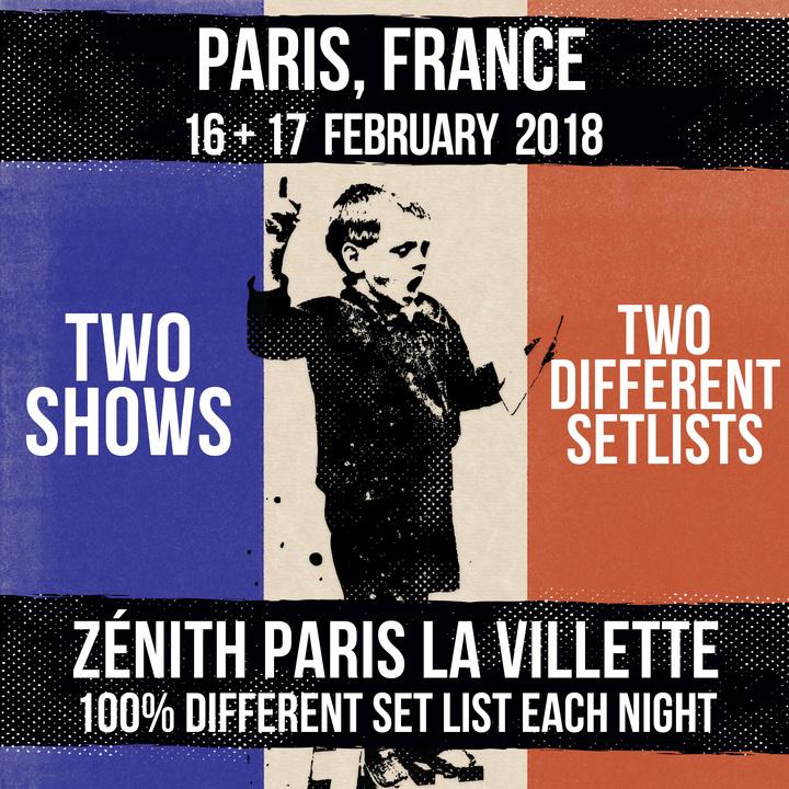 Dropkick Murphys @ Zénith Paris La Villette - Paris, France