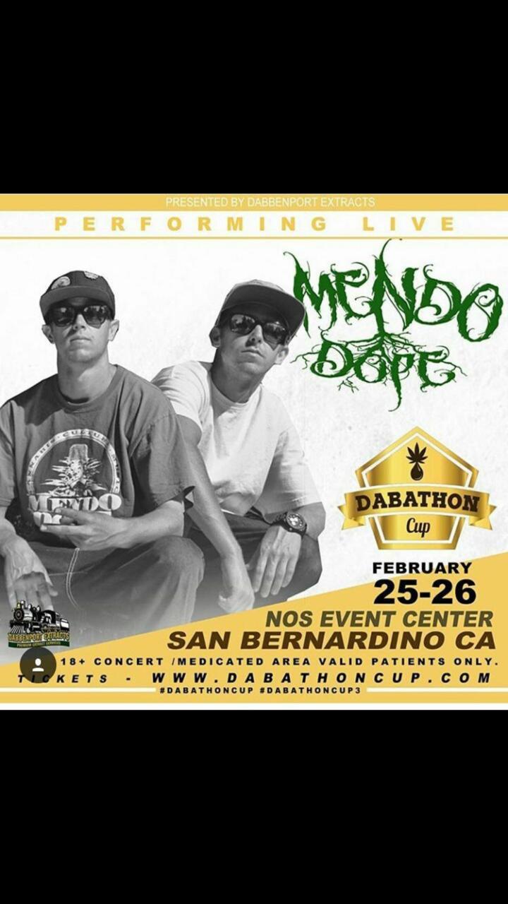 Mendo Dope Tour Dates