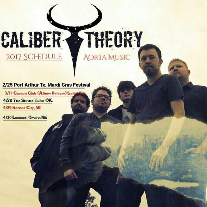 Caliber Theory Tour Dates