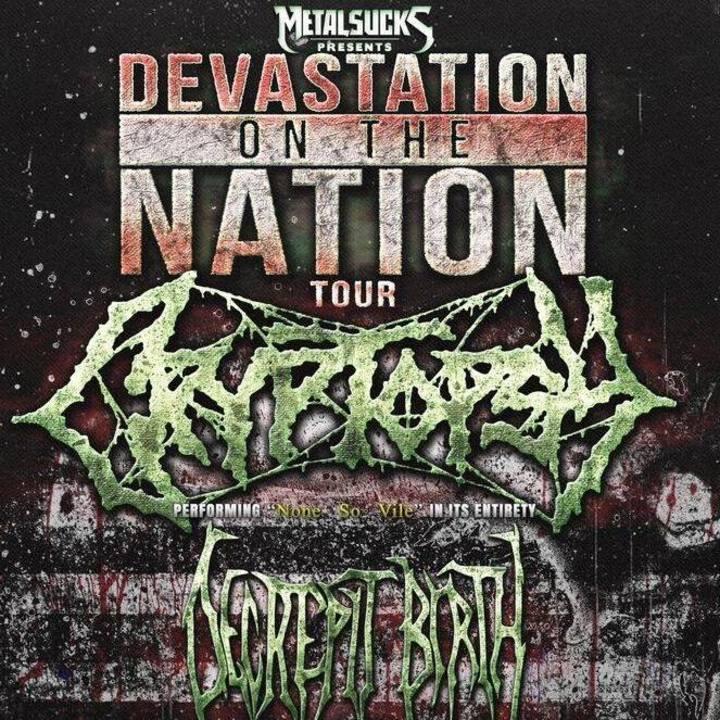 Cryptopsy Tour Dates