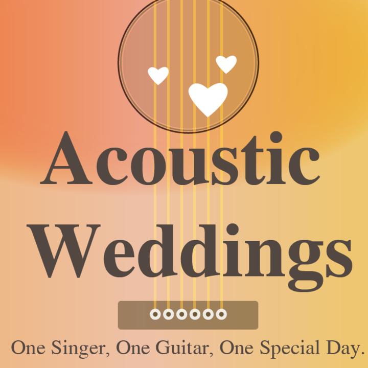 Acoustic Weddings Tour Dates
