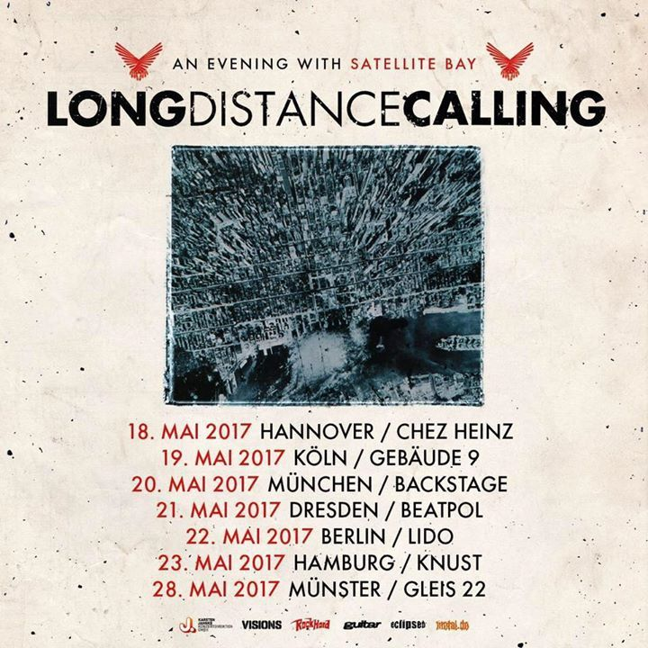Long Distance Calling @ Tower Musikclub - Bremen, Germany