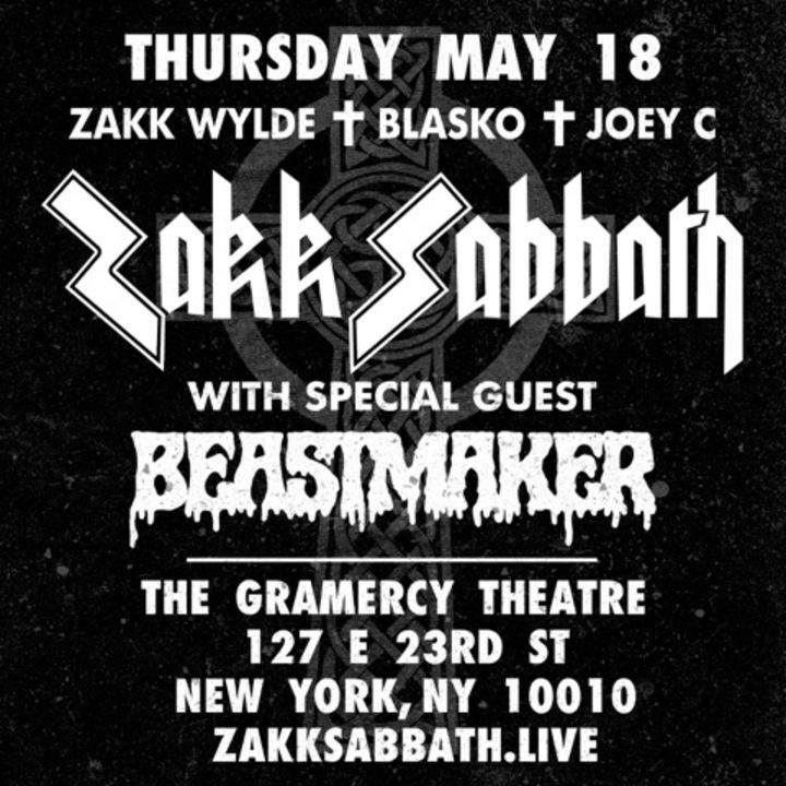 Zakk Wylde @ The Gramercy Theatre - New York, NY