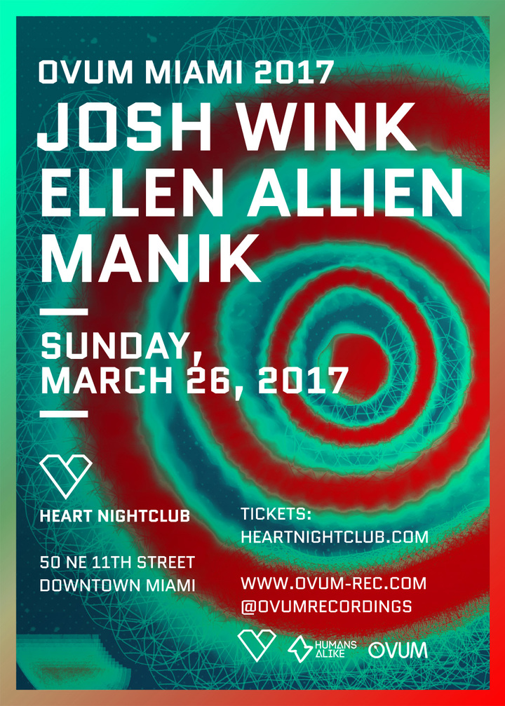 Josh Wink @ Heart Nightclub - Miami, FL