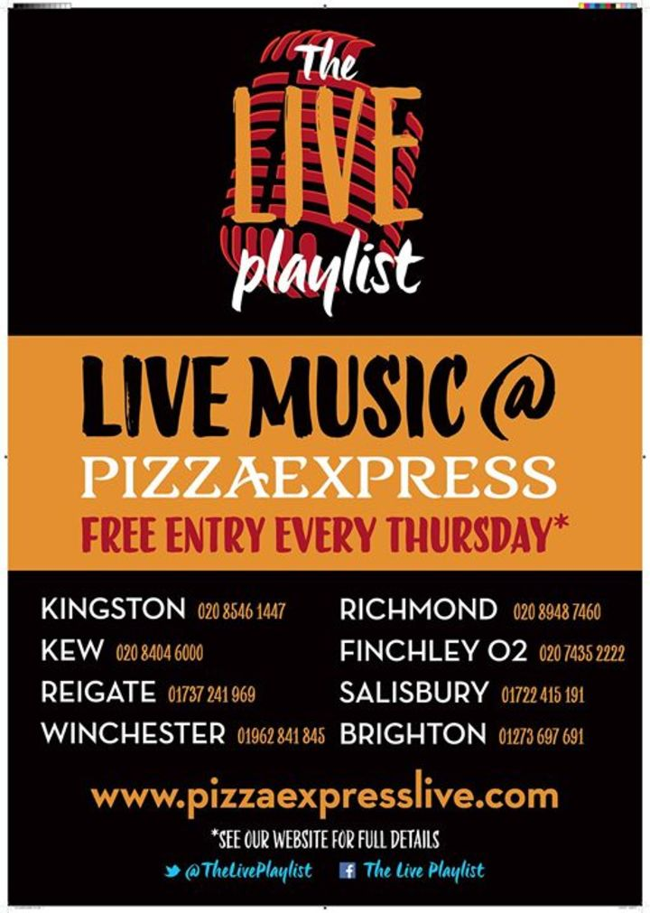 Bandsintown Sharlette Tickets Pizza Express Wapping