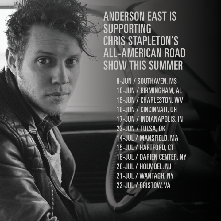 Anderson East @ BankPlus Amphitheater at Snowden Grove - Southaven, MS