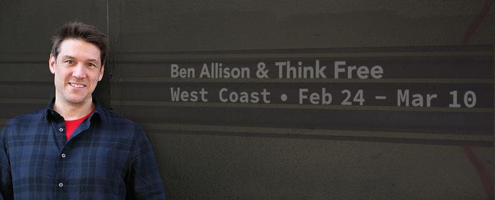 Ben Allison @ Shaghoian Concert Hall - Fresno, CA