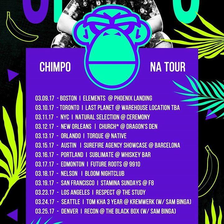 Chimpo Tour Dates